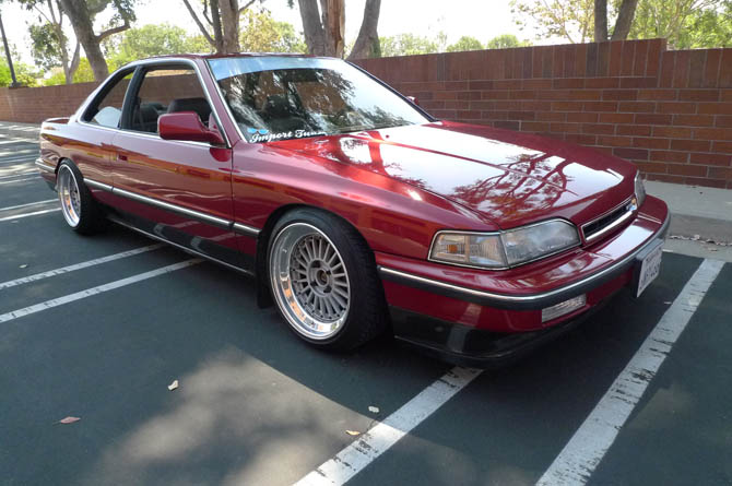 Fs 1988 Acura Legend 2 Door Coupe Totally Rad Honda